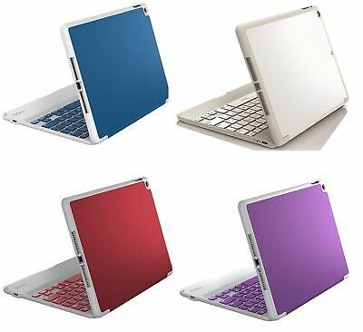 Zagg Folio Cover Case, Hinged Bluetooth Keyboard (Non Backlit) for iPad Air 2