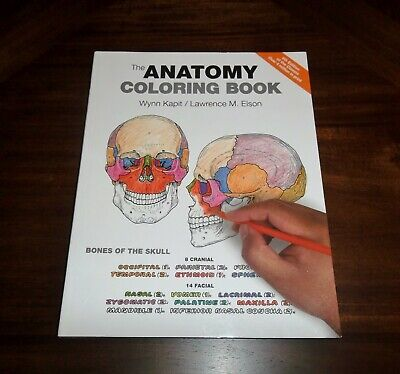 The Anatomy Coloring Book 4th Edition by Wynn Kapit / Lawrence M. Elson