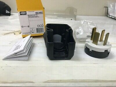 HBL8452C Hubbell 3 Pole 4 Wire Plug  **NEW**