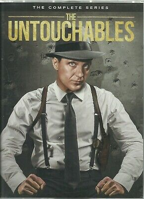 THE UNTOUCHABLES: The Complete TV Series -  DVD Boxed Set