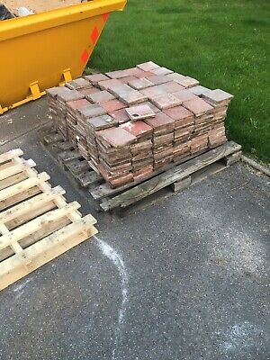 RECLAIMED - RED QUARRY TILES 6X6 470 Tiles - PRICED PER TILE - or best offers