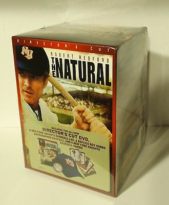 The Natural GIFT SET (DVD, Director's Cut) NEW ball hat cards ROBERT REDFORD
