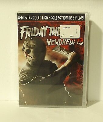 Friday the 13th: The Ultimate 8 Movie Collection (DVD, 8-Disc Set, Canadian) NEW
