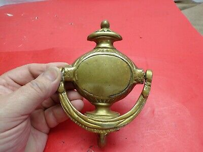 Vintage Door Knocker Solid Brass, Cow-Horse Head ?