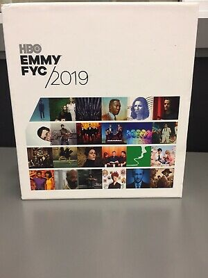 HBO FYC 2019 Emmy PROMO 34 DVD Box GAME OF THRONES VEEP AND MORE. BRAND NEW.