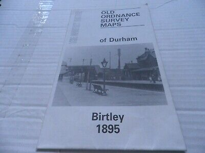 Godfrey Edition, Old Ordnance Survey Map, Birtley 1895