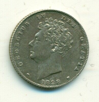 Great Britain 6d 1828 VF+