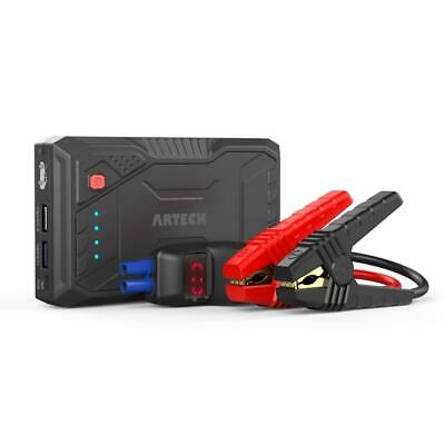 Arteck 800A Peak Portable Car Jump Starter (Up to 6.0L Gas or 4.0L Diesel...