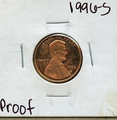 1996-S 1c Proof United States Lincoln Memorial Cent BF919