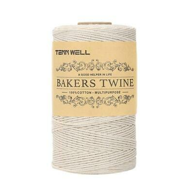Bakers Twine 2Ply 100m Kitchen Cotton Twine Food Cooking String Sky Blue