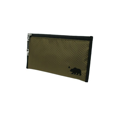 """11/"""" x 6/"""" Cali Crusher Smellproof Locking Pouch w// Key — Choose Your Color"""
