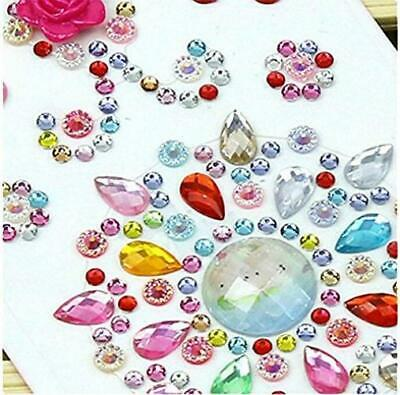 1480 Pieces Self-Adhesive Craft Jewels, Morkia 8 Sheets Self-Adhesive...