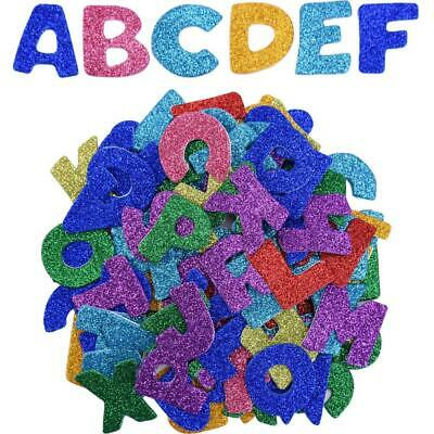 Glitter Foam Stickers Letter Sticker Self Adhesive Letters, Assorted Colors,...