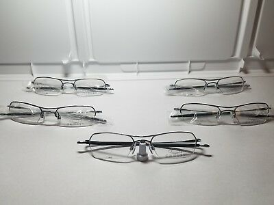 "Oakley RX Glasses "" Lot of 5/NEW! "" Hollowpoint 2.0 Polished Mercury 50-19"
