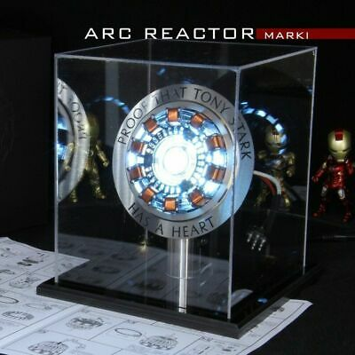 Avengers 1:1 Iron Man Arc Reactor Action Figure MK1 Ironman Reactor Tony Stark@