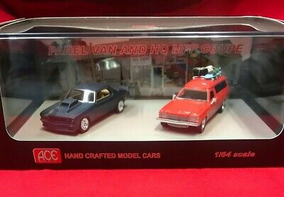 1:64 Mad Max MFP HQ Monaro Coupe & Panel van Twin Set ACE-MM2 2018 diecast expo