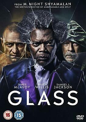 Glass  with  James McAvoy New (DVD  2019)
