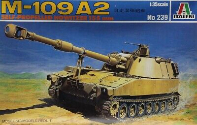 AFV CLUB 1/35 AF35109 US M109A2 155mm Howitzer Self