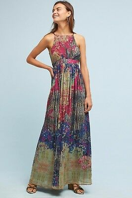 2266a1c66a5 NWT ANTHROPOLOGIE BHANUNI by Jyoti Libra Embroidered Tunic Dress ...