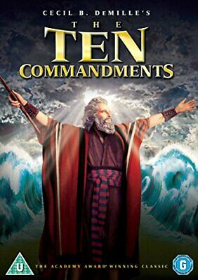 The Ten Commandments [DVD] [1956] - DVD  4ILN The Cheap Fast Free Post