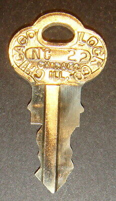 Original Northwestern NC22 Vending Key for Locks & Barrel Lock Peanut Gum ball