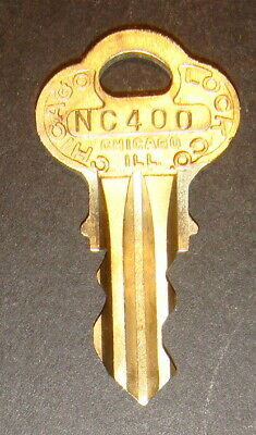 Original Northwestern NC400 Vending Key for Lock & Barrel Lock Peanut Gum ball