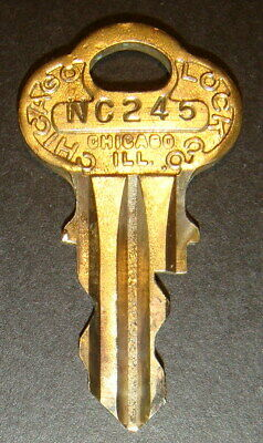 Original Northwestern NC245 Vending Key for Lock & Barrel Lock Peanut Gum ball