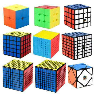 MoYu Magic Cube 2x2 3x3 4x4 5x5 6x6 7x7 8x8 9x9 Professional Twist Puzzle Rubiks
