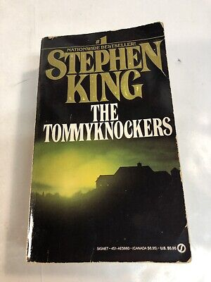 The Tommyknockers, Stephen King (1988, Pb) First Printing