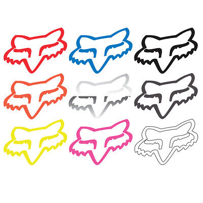 "Fox Racing Corporate TDC 4"" Fox Head Vinyl Sticker"