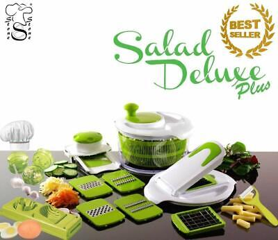 Salad Delux plus by Stone&stone Salad Plate Multifunction Grinders Ajos.de Huvo