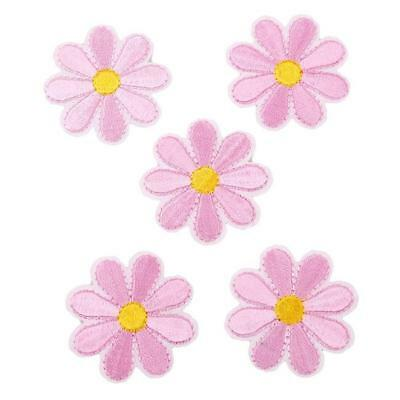 Embroidered Sew On Iron On Patch Badge Clothes Fabric Applique DIY Craft JJ