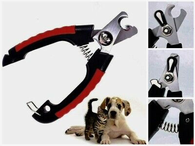 Pet Nail Clippers Cutter Professional Dog Steel Grooming Scissors Animals Cats