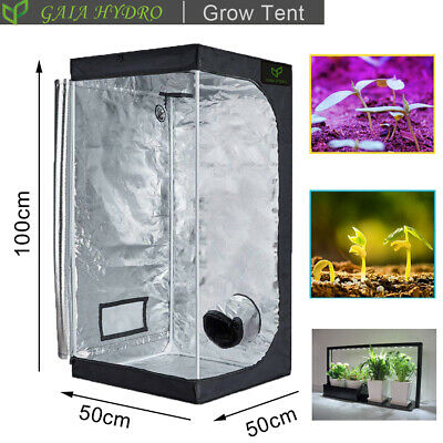 Indoor Portable Grow Tent Green Room Silver Mylar Lined Hydroponic 96%Reflective
