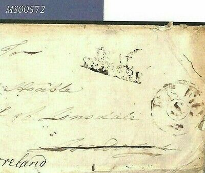 BARBADOS Cover GB *FREE/S* 1788 SHIP LETTER DEAL *Lonsdale* Westmoreland MS572