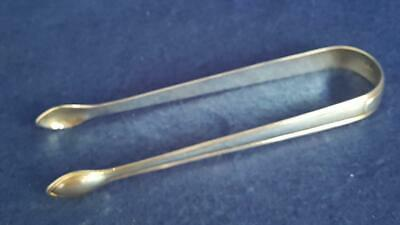 Great Pr Geo H/M Sterling Silver Peter & Ann Bateman Sugar Tongs/Nips Ldn 1792