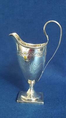 Top-notch George III H/marked Sterling Silver Helmet Cream Jug London 1792 113g