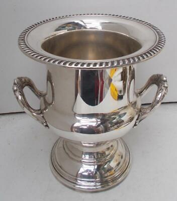 Superb Vintage French Silver Plate Champagne Wine Ice Bucket Cooler by A.Gelb