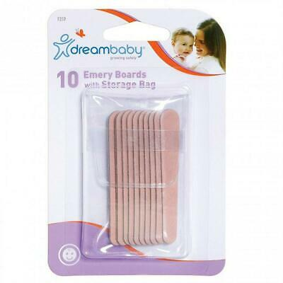 Dreambaby Emery Boards With Case, 10 Pack Dreambaby Free Shipping!