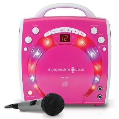 Karaoke Player Machine Portable System For Girls Kids Players Songs Music Disco