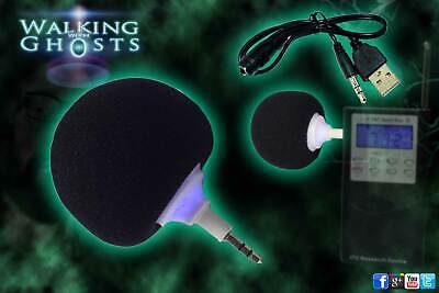 Ball Speaker for Spirit Box PSB7 EVP MP3 Rechargeable USB Ghost Hunt Paranormal