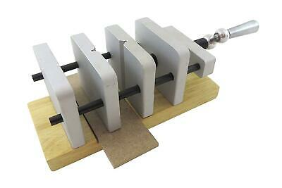 """Taytools 469003 Deluxe Pen Blank Centering Drill Press Vise, Jaws open to 2-3/8"""""""