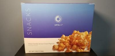 Medifast Optavia Sharp Cheddar & Sour Cream Popcorn - Full Box  - Exp 9/19 New!