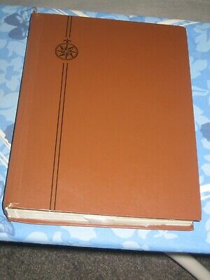 large stock book / stamp album with world stamps