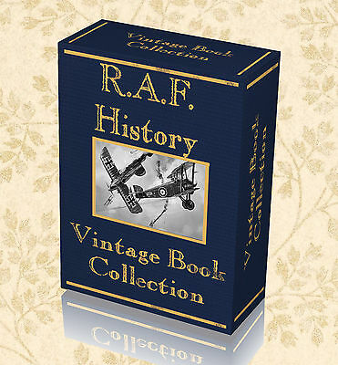 96 Vintage Books RAF History WW1 Royal Air Force Flying Corps War Military 241