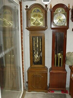Westminster grandfather clock triple chime