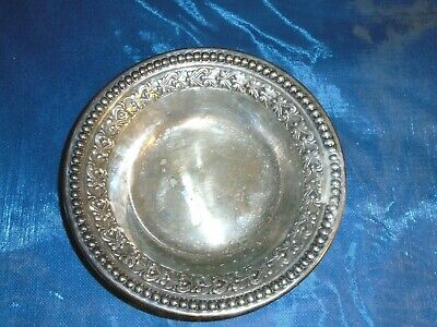 "Wallace Silver-Plate 6""  Bowl"