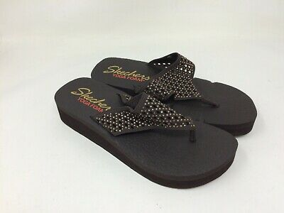 "NEW!! WOMENS SKECHERS ""Yoga Foam"" Vinyasa Flow Sandles"