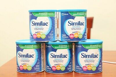 Lot of 5 Similac Advance Baby Formula With Iron