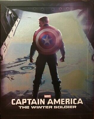 Marvel's Captain America: The Winter Soldier Steelbook Edition - 3D + Blu Ray